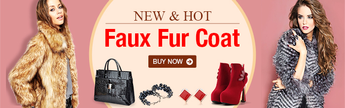 New and Hot Faux Fur Coat