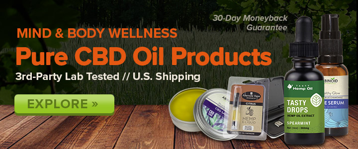 Natural products to help you feel human again at MadeByHemp.com