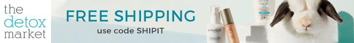 Get FREE Shipping at The Detox Market