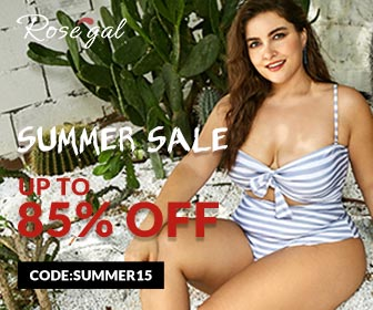 Summer Big Sale: Up to 85% Off And Cash Off with Code: Summer15 at Rosegal.com. Ends: 8/13/2018