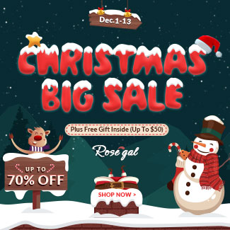 Christmas Sale: Up to 70% OFF+Free Shipping