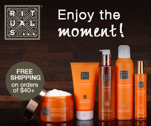 Free shipping on orders of $40+ at Rituals.