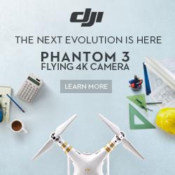 The Next Evolution Is Here: Phantom 3 - Flying 4K Camera