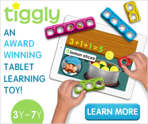 Tiggly Counts Award Winning Tablet Learning Toy! Ages 3-7 Yr, Learn More!