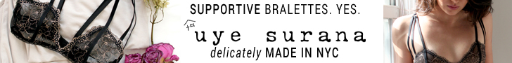 Supportive bralettes? Yes. Find your bralette in sizes 28-38 A-G & more at Uye Surana. Delicately made in NYC.