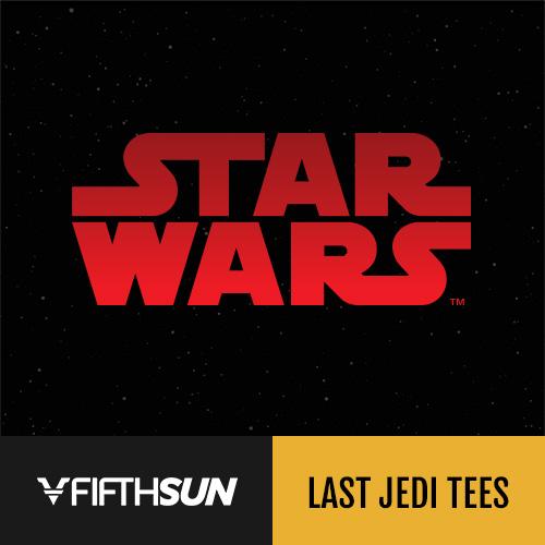 Shop Star Wars The Last Jedi Tees at FifthSun.com.
