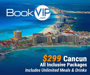 Attention Beach Lovers! Now get 5 nights in Cancun with unlimited Meals and Drinks including alcohol for only $299 per couple and kids stay FREE! Click here!