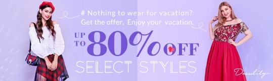 Style Your Vacation Dresslily VDay Sale