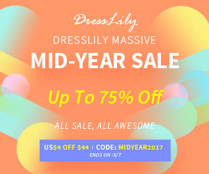 Mid Year Sale: Up to 75% OFF and Free Shipping!