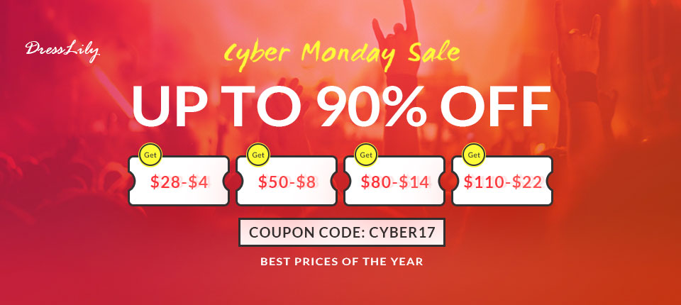 Cyber Monday Up To 90% OFF, Best Price Of The Year