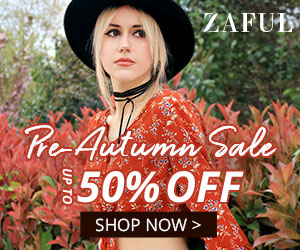 Zaful 2019 Pre-Autumn Sale: Up to 50% Off