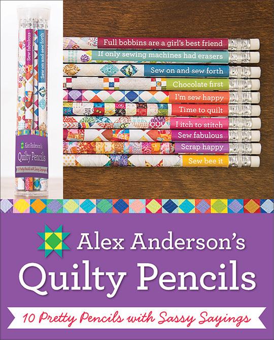 Alex Anderson's Quilty Pencils