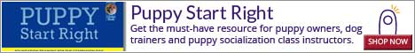 Get the must-have resource for puppy owners, dog trainers and puppy socialization class instructors.