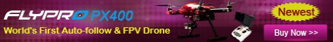 World First Release, Only This drone quadcopter with both FPV& Auto-follow functions, can be controlled by Phone or Remote Control