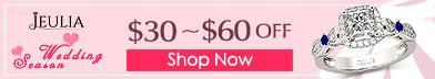 Jeulia Rings Sale, $30-$60 Off