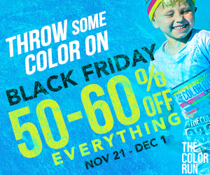 The Color Run Store Black Friday
