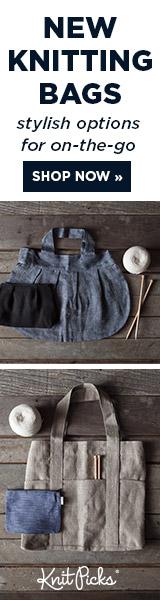 New Knitting Bags at knitpicks.com