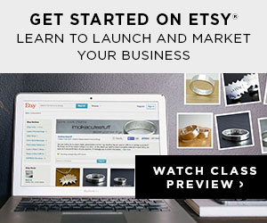 CreativeLive Etsy course