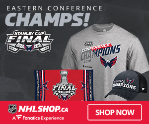 The Capitals are Eastern Conference Champs  - Get their Champs Gear at NHLShop.ca