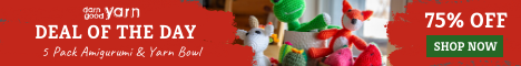 5 Pack Amigurumi Deal of the Day SAS