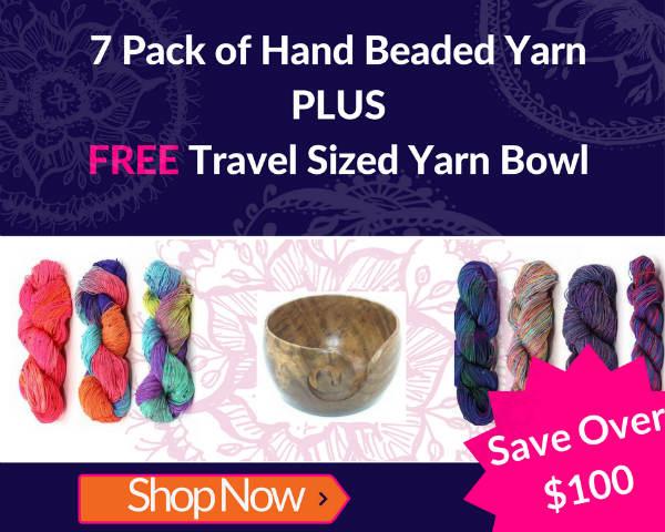 Yummy yarn + a free gift