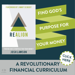 REALIGN: Finding God's Purpose For Your Money by Josh Lawson