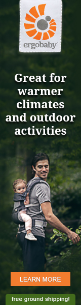 Ergobaby Performance Carriers are great for warmer climates and outdoor activities