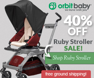 40% OFF Ruby Stroller Sale!