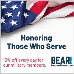 bear mattress veterans day sale