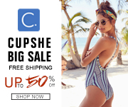 Cupshe Big Sale!Up to 50% Off!Free Shipping!