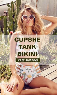 Cupshe Tank Bikini!Free Shipping!