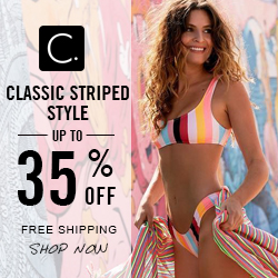 Classic Striped Style! Up to 35% Off! Free Shipping! Shop Now!