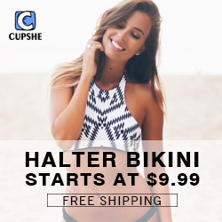 Halter Bikini! Starts at $9.99! Free Shipping!
