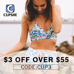 Cupshe Spring Deal! $3 Off Over $55! Code:CUP3! Shop Now!