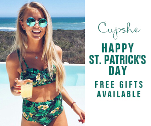 Happy St. Patrick's Day!Free Gifts Available!Shop Now!