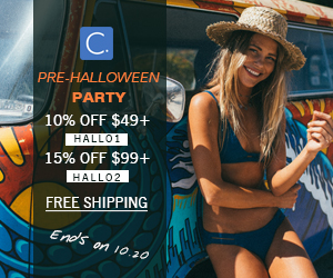 Pre-Halloween Party!10% OFF $49+ :HALLO1! 15% OFF $99+ : HALLO2! Free Shipping!