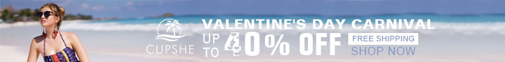 Valentine's Day Carnival! Up to 40% Off! Free Shipping! Shop Now!