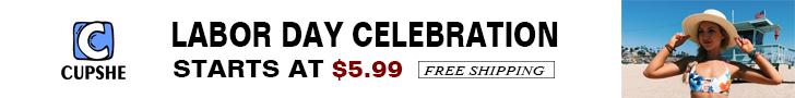 Labor Day Celebration!Starts at $5.99!Free Shipping!