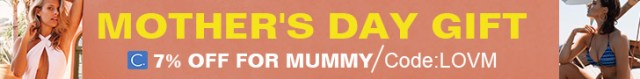 Mother's Day Gift! 7% Off for Mummy Code:LOVM!Fast Delivery!