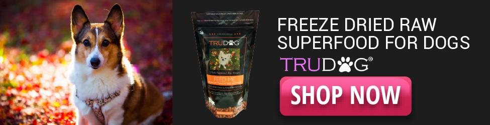 TruDog - Superalimento crudo liofilizado - 975x250