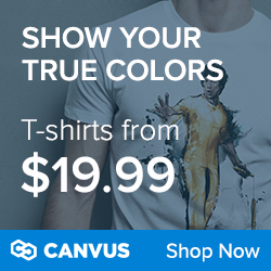 Canvus t-shirts