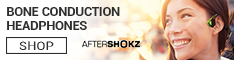 AfterShokz Bone Conduction Headphones - Click Here!