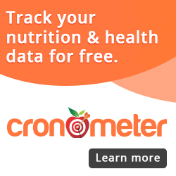 Track Your Nutrition & Health Data with cronometer.com
