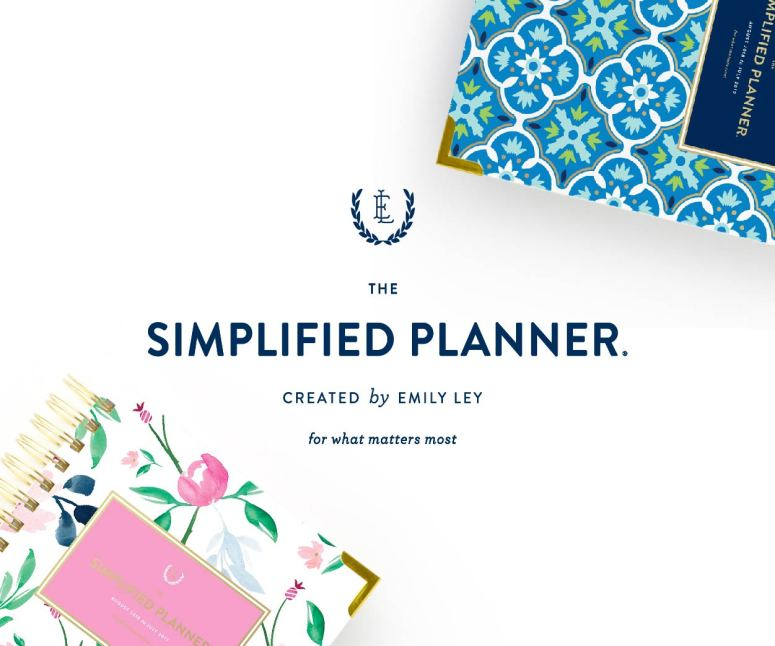 Emily Ley, Simplified Planner, Simplified