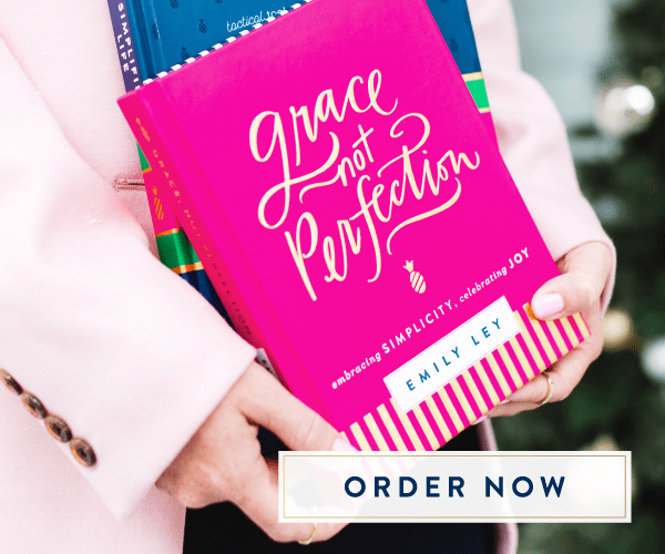 Emily Ley, Simplified Planner, Grace Not Perfection