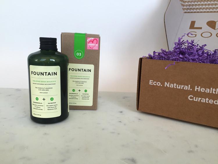 LOVE GOODLY Spoiler: FOUNTAIN'S The Super Green Molecule