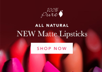 100% Pure Matte Lipsticks