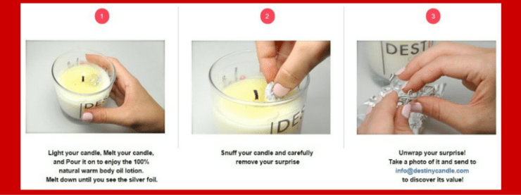 Shop Destiny Candle Now for all your gift giving needs.