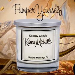 Shop Destiny Candle by Karen Michelle