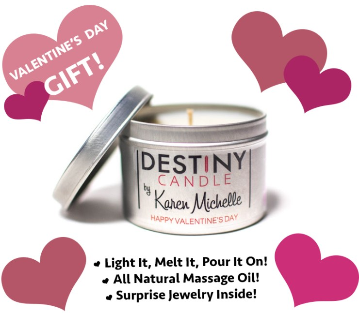 Destiny Candle by Karen Michelle
